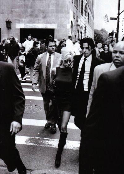 mazzystardust:  Pam & The Man | Pamela Anderson & Tommy Lee by Peter Lindbergh