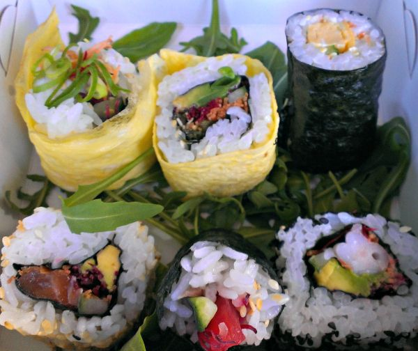#Sushi from #Geeveston #Tasmania. Article and photo for think-tasmania.com
