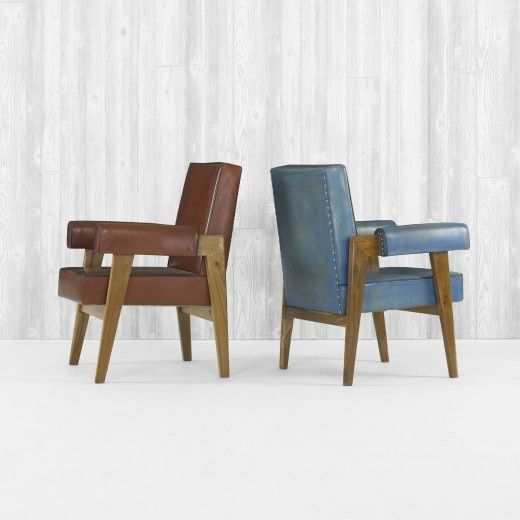Best pierre jeanneret furniture images on pinterest