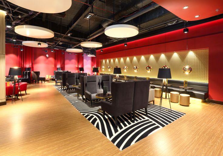 Showcase Southampton Cinema de Lux's interiors by Julian Taylor Design Associates & Diamond Shopfitting ft. our Crystal panels and new gold laminate.