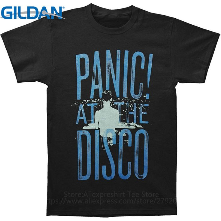 Funny T Shirts For Sale Gildan Crew Neck Men Short-Sleeve Compression Panic At The Disco T Shirts #Affiliate