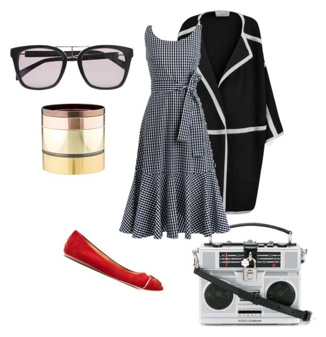 """Music practice"" by fishpinochio on Polyvore featuring Dolce&Gabbana, Chloé, J.Crew, Balmain, Tod's and Gemma Redux"