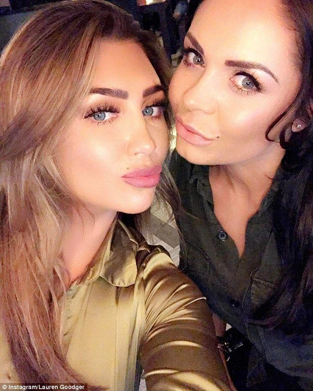 Pout and about: Lauren Goodger has been branded a 'hypocrite' after pleading with her fans to stop using 'ugly' face fillers  during a Twitter rant on Wednesday