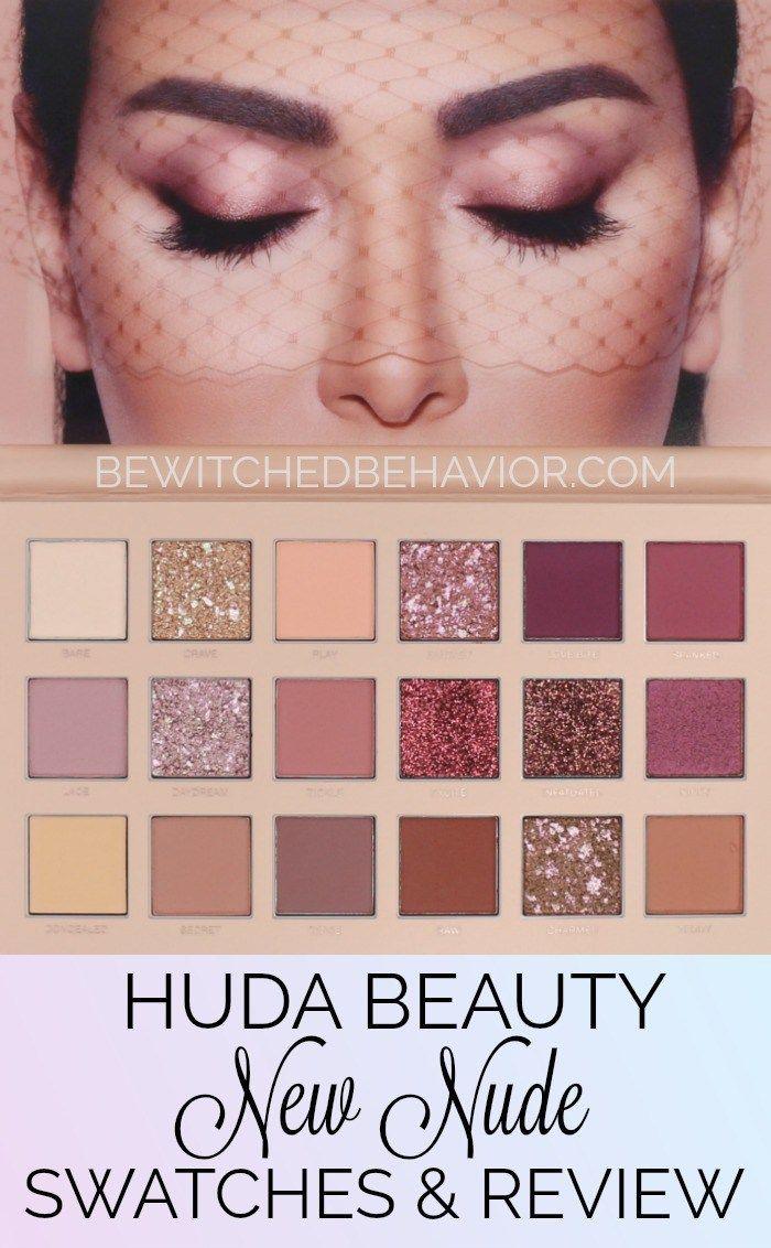 huda beauty palette eyeshadow