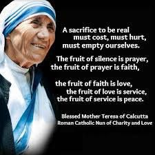 - Mother Teresa