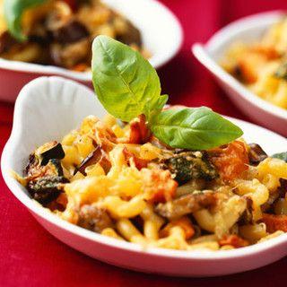 Gratin de macaronis aux légumes, facile et pas cher : recette sur Cuisine Actuelle