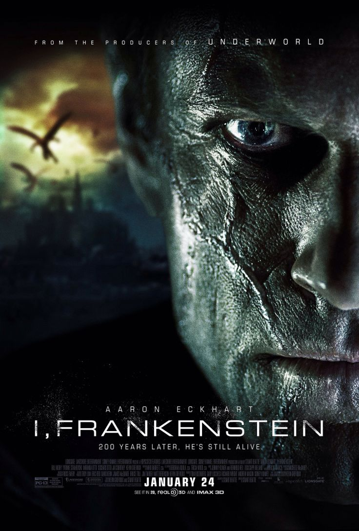 I, Frankenstein | #movies #posters #ifrankenstein. Saw this today....it was excellent.   Surprised
