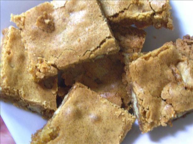 Paula Deen s Brown Sugar Chewies from Food.com: This is a great bar cookie.