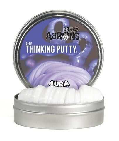 Crazy Aarons Thinking Putty - Glow in the Dark Aura Putty  We love things that glow in the dark! Also, it's super fun to touch. #PinToWin #EntropyWishList
