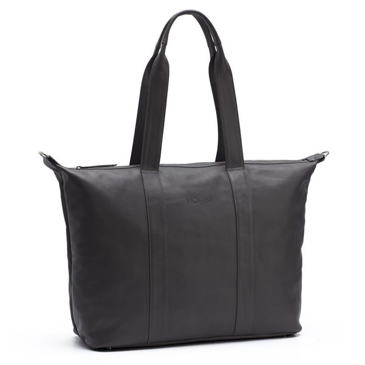 MORINI MOCO LEATHER BAG // DARK GREY  http://morini.pl/