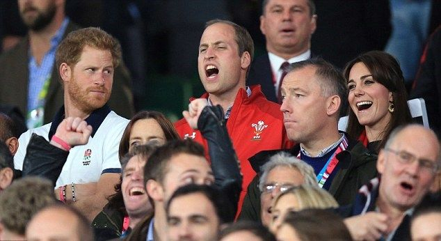 Duchess Kate: William and Kate Embrace as Wales Snatch Victory from England