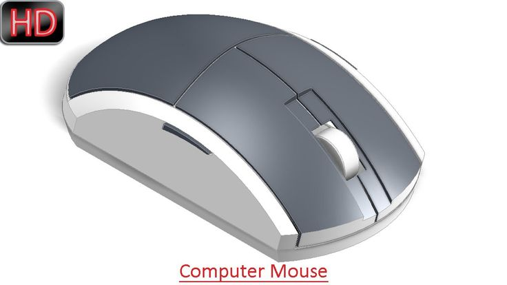 Designing a computer mouse in autodesk inventor