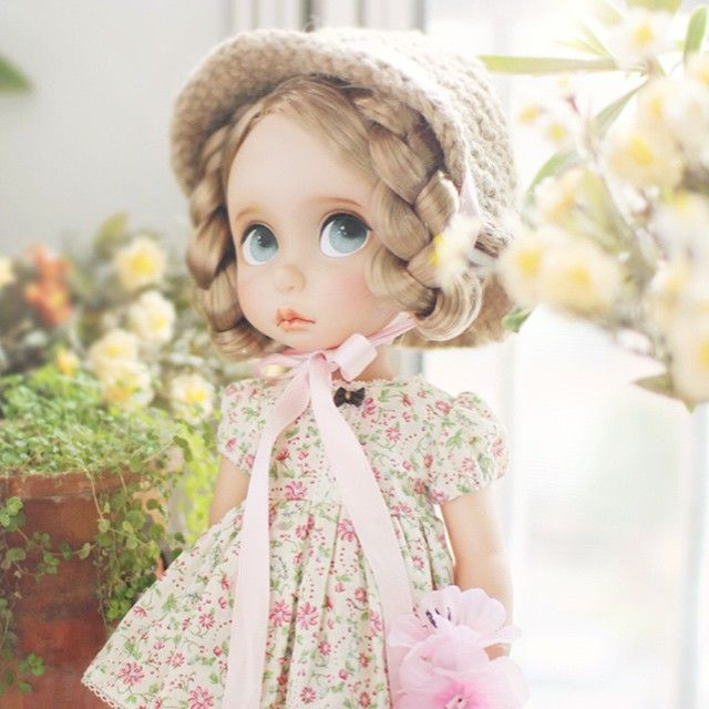 Wow. Adorable remake of a Disney Animator doll.