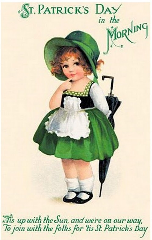 Old-Fashioned Charm: Happy St. Patrick's Day!