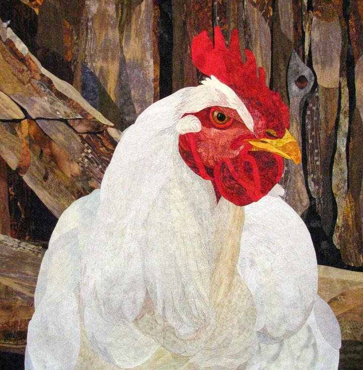 I ain't no Spring Chicken by David Taylor International Quilt Festival, Rosemont, Illinois, April 2008  -  Travel Photos by Galen R Frysinger