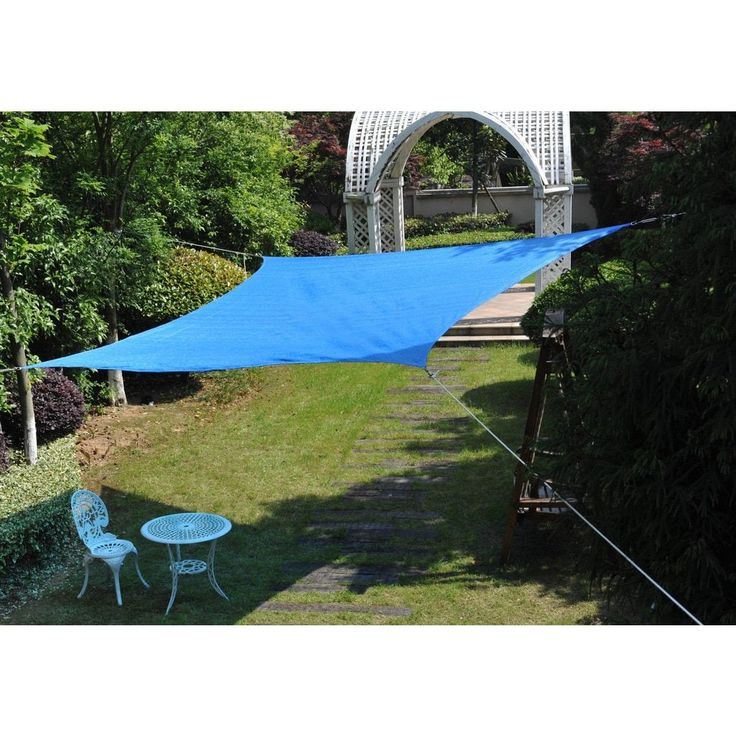 Cool area Square 11 Feet 5 Inches Sun Shade sail, UV Block Patio Sail Perfect for Outdoor Patio Gardenin Color #ASS-18512-B