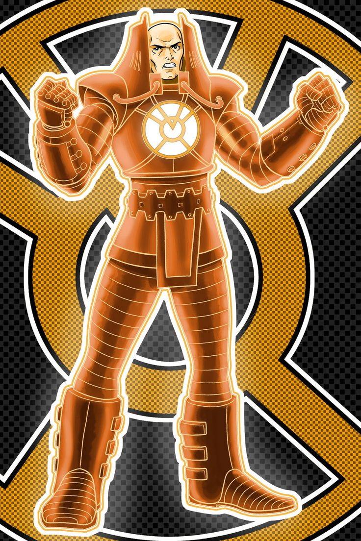 Orange Lantern Lex Variant by Thuddleston.deviantart.com on @deviantART