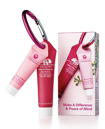 Make a Difference Rejuvenating Hand Treatment & Peace of Mind On-the-spot Relief. With your purchase of our limited edition Make A Difference Skin rejuvenating treatment and Peace of Mind On-the-spot Relief duo you'll be helping to support the Breast Cancer Research Foundation.