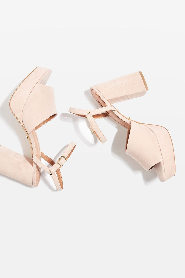 Topshop Two Part Nude Platforms