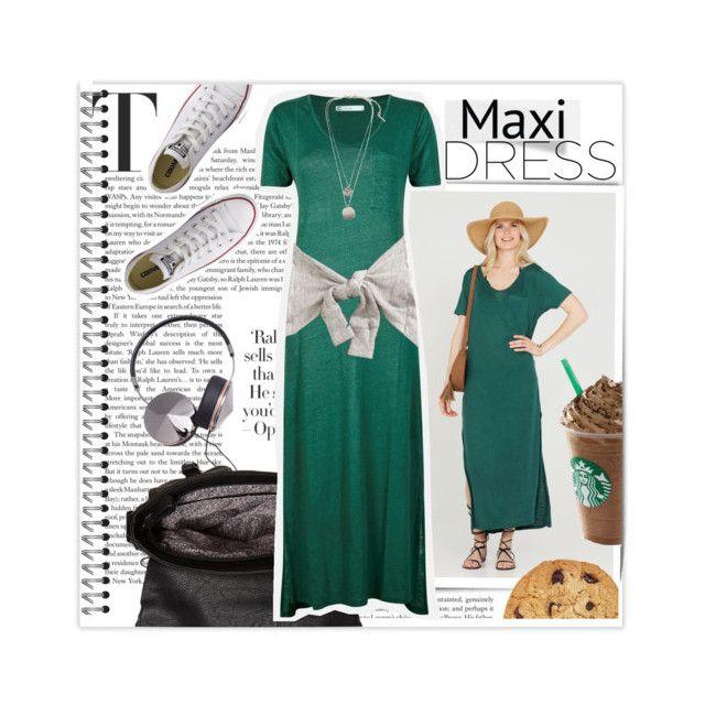 Green Maxi Dress 🌵