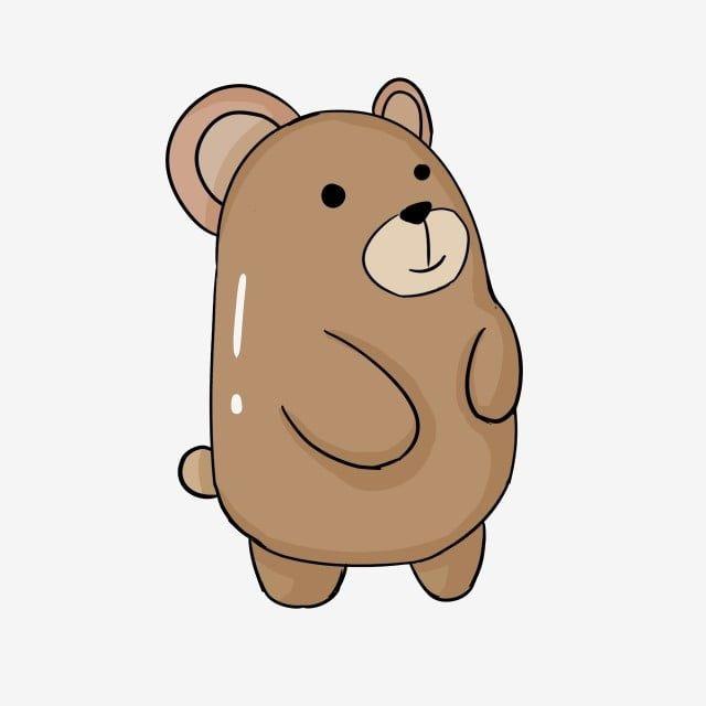 Cute Cartoon Bear Cute Cartoon Bear Png Transparent Clipart Image And Psd File For Free Download Bear Cartoon Cute Cartoon Cartoon Clip Art