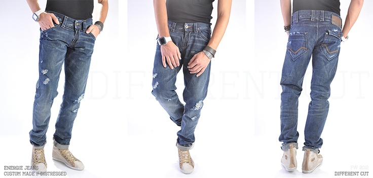 Energie Jeans / Custom made (distressed, tailored fit) in Bucharest, Romania, EU
