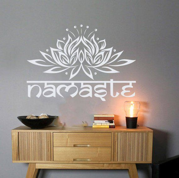 Lotus Wand Aufkleber Namaste Aufkleber Lotus Blume Aufkleber Yoga Aufkleber Namaste Aufkleber Yoga Aufkleber Yoga Studio Aufkleber Lotus Lotus Wandaufkleberaufk Decal Wall Art Wall Decals Sticker Wall Art