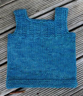 Tiny Trees Vest - lovely simple vest