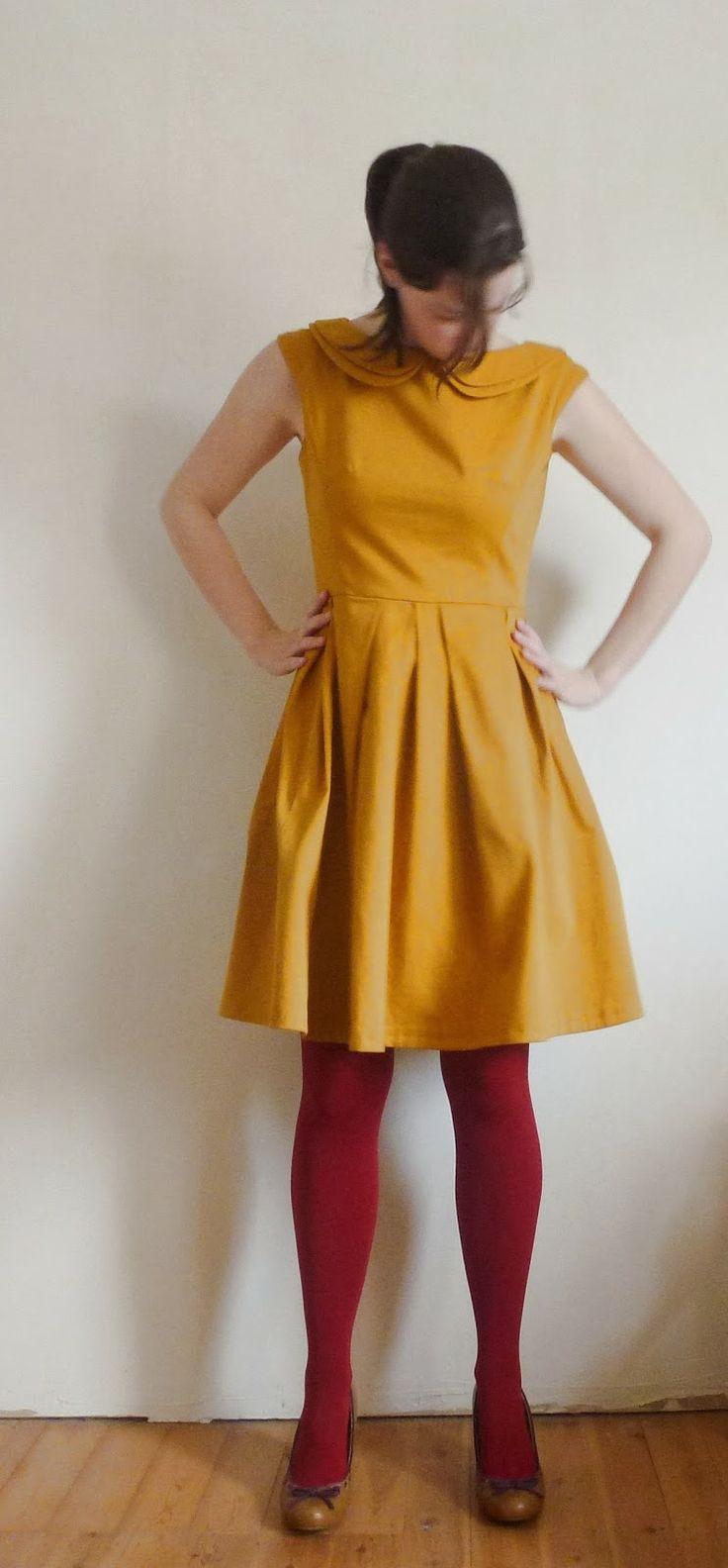 Februari-kleedje (Little Miss Y's homemade wardrobe)