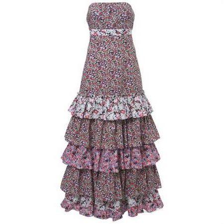 Cool Ruffle maxi dresses Check more at http://newclotheshop.com/dresses-review/ruffle-maxi-dresses-2018-2019/