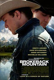 BROKEBACK MOUNTAIN. The story of a forbidden and secretive relationship between two cowboys, and their lives over the years. Ref. number(s): ENG-124 (DVD).