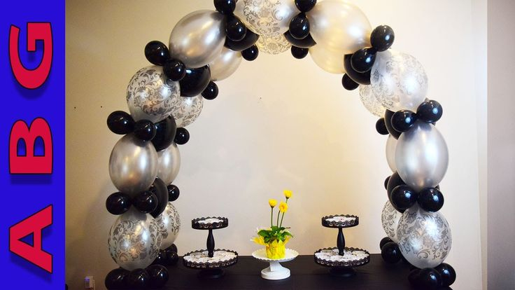 Best 25 large balloons ideas on pinterest wedding for Balloon arch no helium