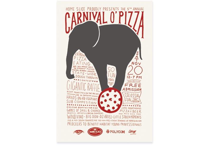 Carnival o' Pizza by Cody Haltom
