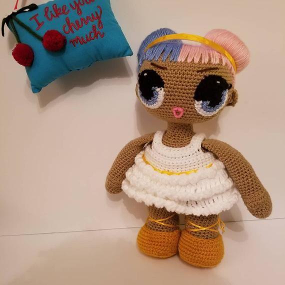 Toy Art Amigurumi Lol Surprise Doll | Amigurumi | Crochet | 570x570