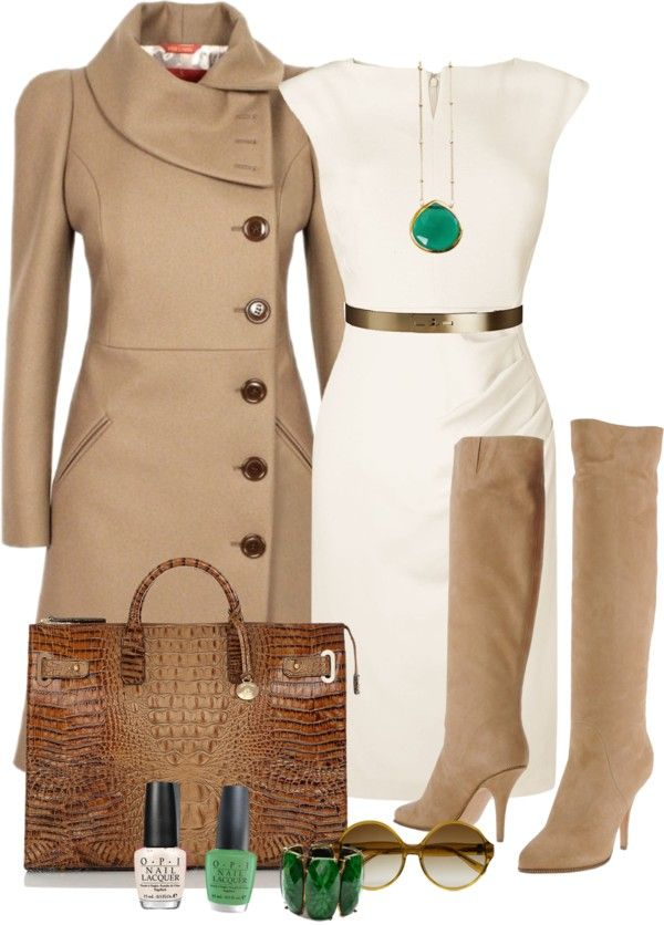 "LOVE THE COAT  ""OPI"" by seasunsand ❤ liked on Polyvore:"