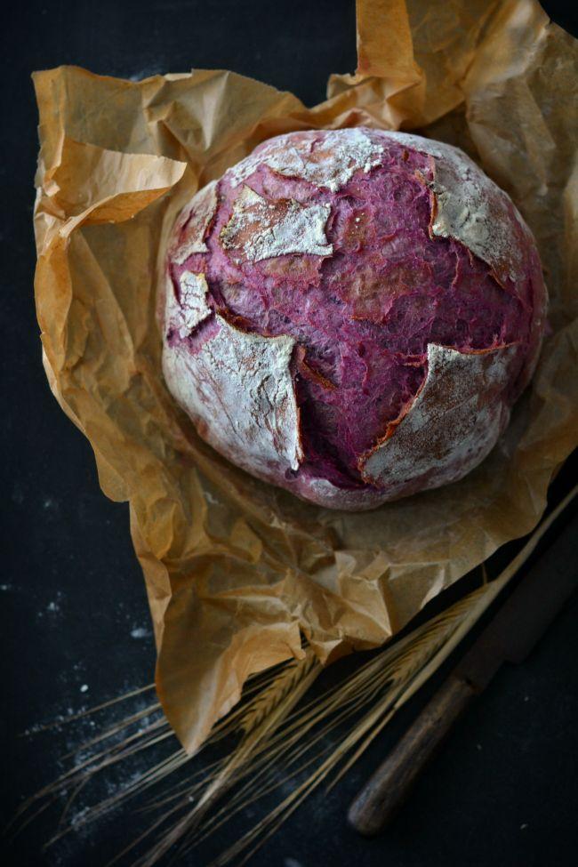 Sweet Gula: Pão de Batata Doce Roxa [na cocotte]