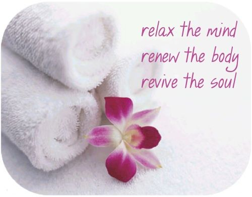 Relax the mind, renew the body, revive the soul. #quotes
