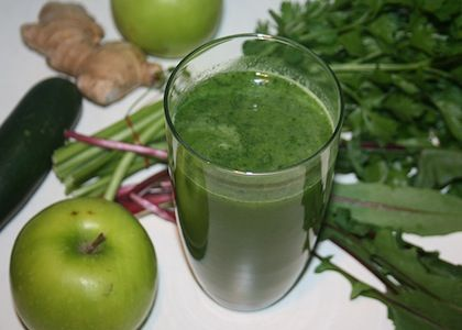 Herb is the Word in this Green Juice | Reboot With Joe