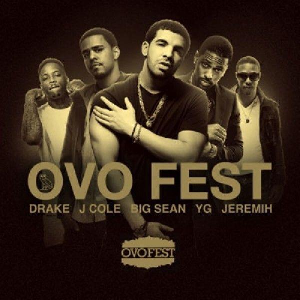 OVO Fest Drake J. Cole Jeremih Big Sean YG Kanye West Mixtape Mix CD