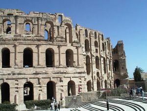 Tunisia - El Djem: the amphitheatre of Thysdrus