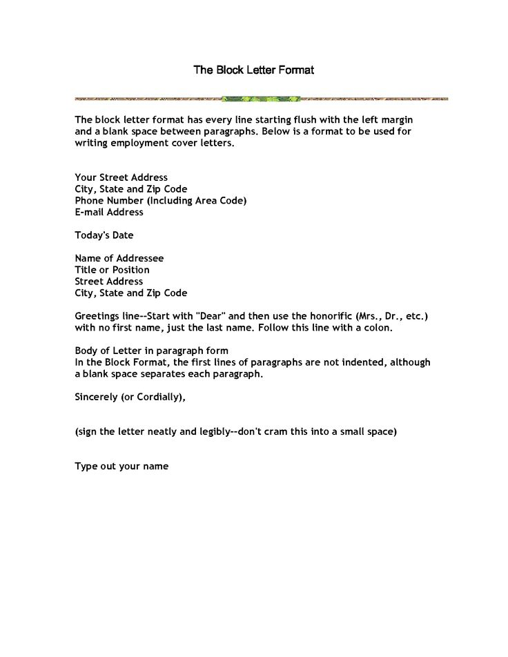 25+ melhores ideias de Business letter format example no Pinterest - example business letter