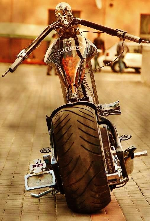 Custom Chopper...wow :)))                                                                                                                                                                                 More