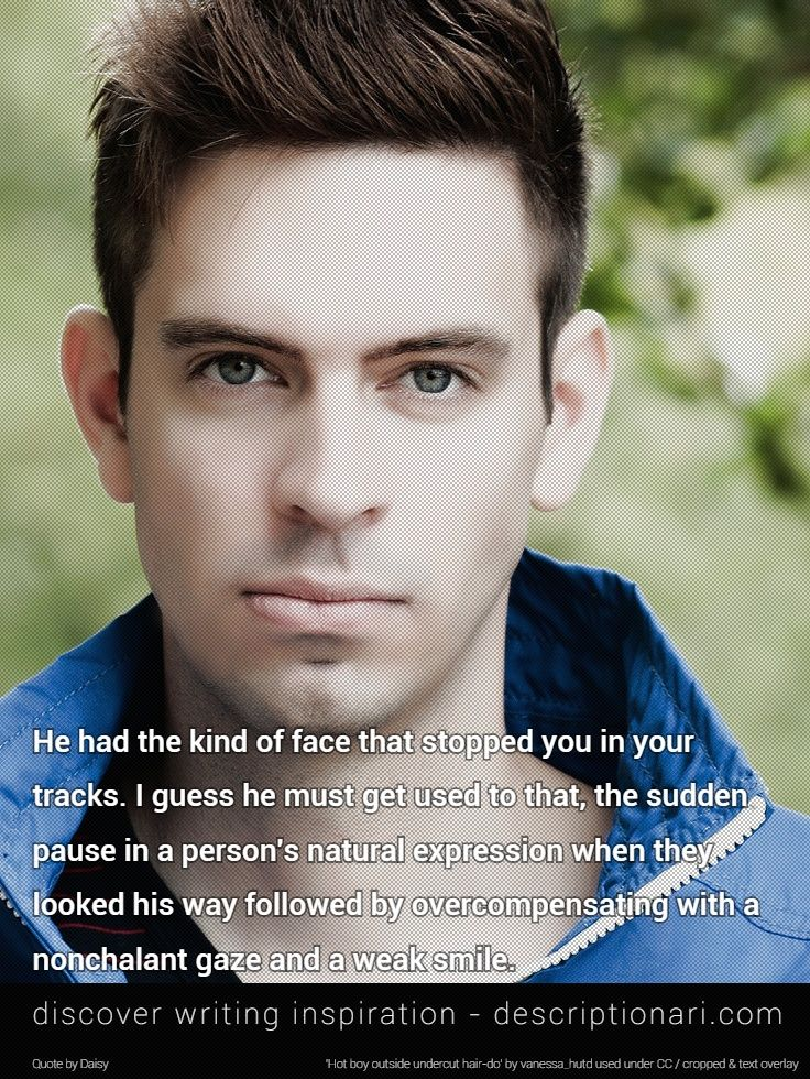 A Handsome Man Quotes And Descriptions To Inspire Creative Writing