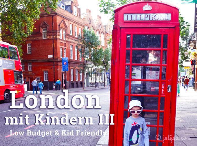 London ist teuer. Insbesondere natürlich das Touristenangebot. Aber das ist ja in jeder Stadt so. Auch in London gibt es viele Möglichkeiten, mit relativ wenig Budget viel zu sehen und die Kinderfr... (Favorite Spaces Tips)