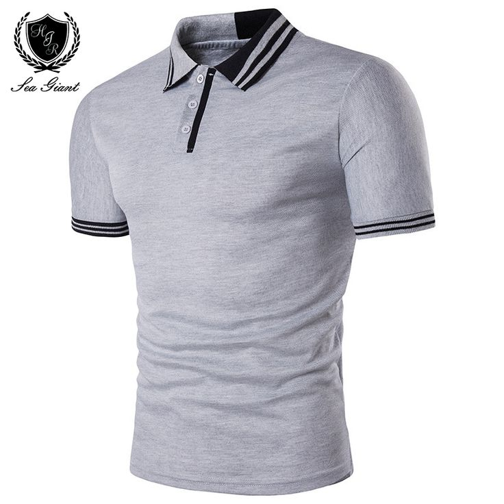 Cheap brand men polo shirt, Buy Quality men brand polo shirt directly from China mens designer polo shirts Suppliers: Summer New Brand Mens Polo Shirt Short Sleeve Solid Button Two Color Stitching Personality Design Male Clothing Man Polo Shirts
