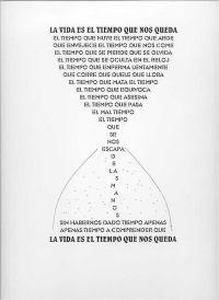 MENARD EL ESCRIBIDOR: 4º ESO: EJEMPLOS DE CALIGRAMAS Y POEMAS VISUALES:
