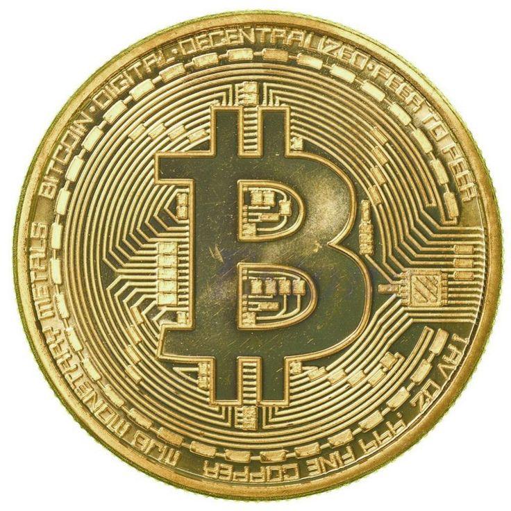 1 x Chapado Bitcoin Moneda de Colección BTC Moneda Regalo Colección de Arte Física