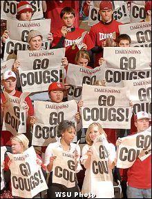 WSU Cougar Fans! #washingtonstate #gocougs