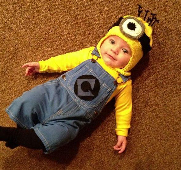 2015年ハロウィン子ども仮装アイデア♡キッズコスチュームはこれで ... ミニオン