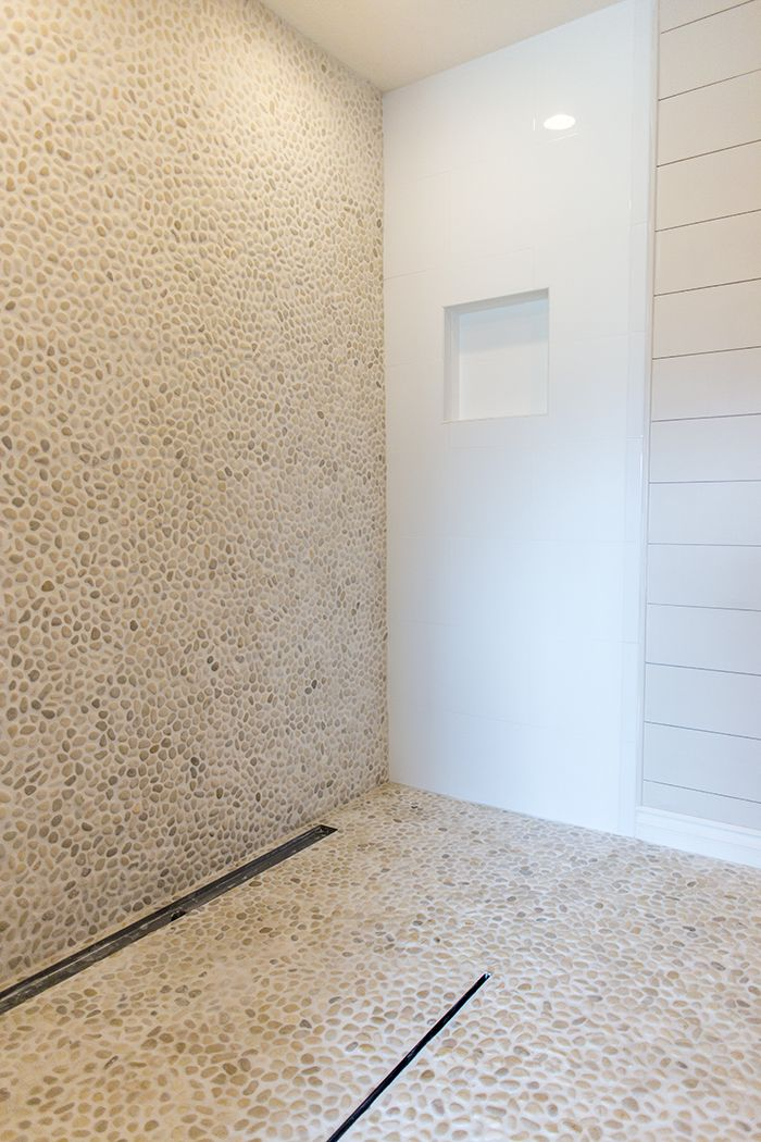 Pebble tile & a master bathroom update!   Jenna Sue Design Blog